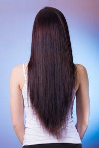 長い髪の毛